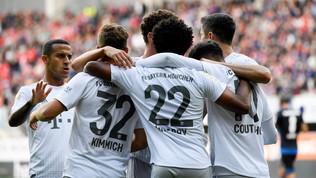 Bundesliga: il Bayern torna primo da solo, il Werder Brema rallenta il Dortmund