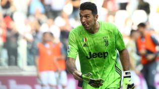 """Juve, Buffon: """"Record? È bello arrivarci da giocatore di livello"""""""