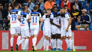 Serie A: Sassuolo-Atalanta 1-4, super-Gomez fa sognare la Dea