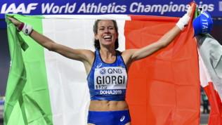 Atletica, Mondiali; Giorgi bronzo nella 50 km di marcia