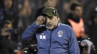 Argentina, Maradona in lacrime sotto la curva: il suo Gimnasiaancora ko