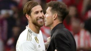 Derby di Madrid, nessun gol ma che scintille tra Ramos e Simeone