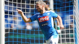 """Napoli, Mertens: """"Buon primo tempo, ma sono un po' deluso"""""""