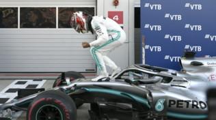 """F1 Russia, Hamilton: """"Risultato straordinario, ora non penso al titolo"""""""