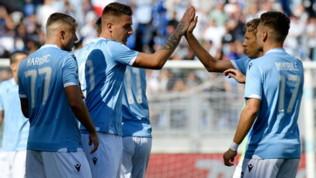 Lazio-Genoa: le foto del match