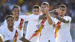 Serie A: Lecce-Roma 0-1, Dzeko risolleva i giallorossi