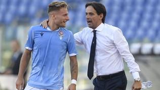 """Lazio, Inzaghi: """"Immobile? Partita straordinaria e tutto già risolto"""""""
