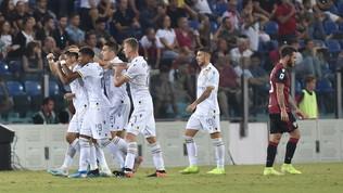 Serie A: Cagliari-Verona 1-1, Faraoni risponde a Castro