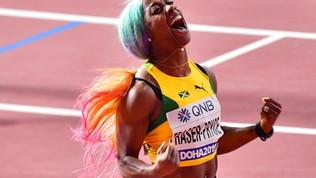 Atletica, Mondiali:  Shelley Ann Fraser-Pryce medaglia d'oro nei 100 m femminili