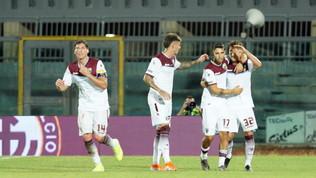 Serie B: la Salernitana passa a Livorno, l'Entella ferma il Benevento