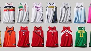 NBA al via il 22 ottobre, tutte le nuove maglie