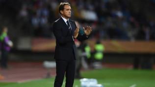 """Nazionale,Mancini svela: """"Gioca Pinamonti, è il futuro della Nazionale"""""""
