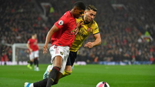 Premier League, Manchester United-Arsenal 1-1: Aubameyang risponde a McTominay e gela i Red Devils