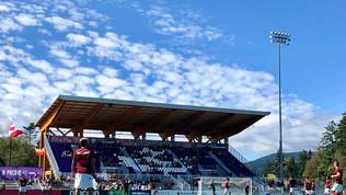 Uno stadio tutto di legno in Canada!