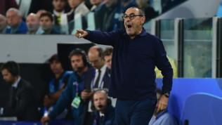 """Juve, Sarri: """"Venuti fuori bene nel secondo tempo"""""""
