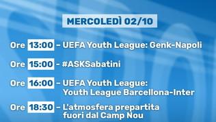 Dalla Youth League a PressingChampionsLeague: tutto in diretta streaming su Sportmediaset.it