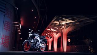 La Yamaha MT-03 è tutta nuova