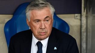 """Napoli, Ancelotti: """"Una buona partita, è un punto in più e ce lo prendiamo"""""""