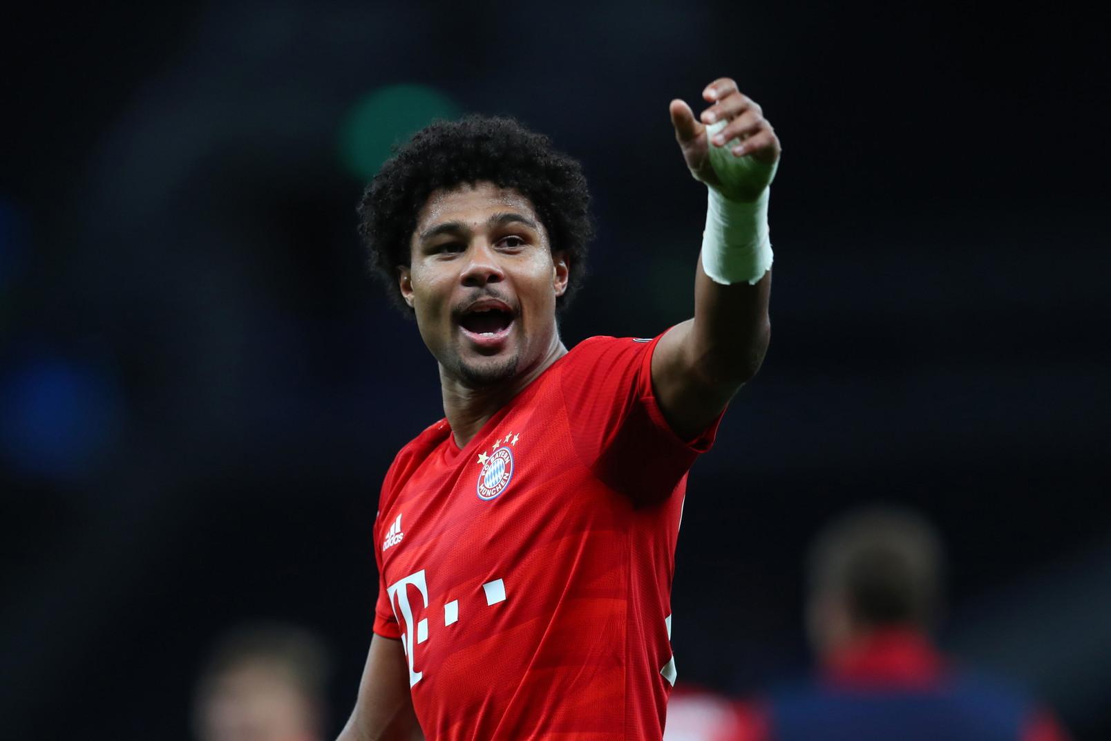 Serge Gnabry (Tottenham-Bayern 2019)
