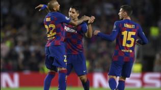 Champions League, Barcellona-Inter 2-1: Suarez spegne i sogni nerazzurri