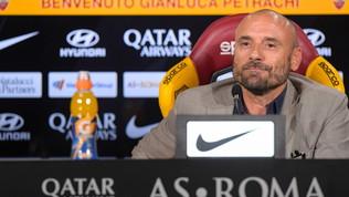 """Roma,Petrachi: """"La gaffe sulla trattativaDzeko-Inter? Volevo dire a luglio"""""""