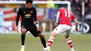 Europa League: solo un pari per lo United, il Mönchengladbachfa sorridere la Roma