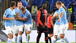 Lazio-Rennes: le foto del match