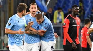 Europa League, Lazio-Rennes 2-1: Inzaghi interrompe il digiuno in Coppa
