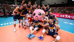 World CupVolley 2019: prima vittoria per l'Italia, Argentina ko