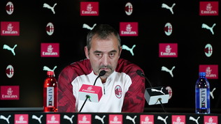 """Milan, Giampaolo: """"Ci mancano gli ultimi 20 metri. Non possiamo rinunciare a Piatek"""""""