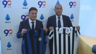 Anticipo di Inter-Juve: Zanetti e Trezeguet in Lega Calcio