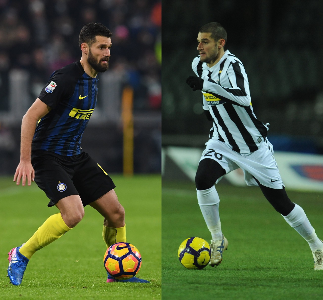 Antonio Candreva: Juve 2010, dal 2016 all'Inter