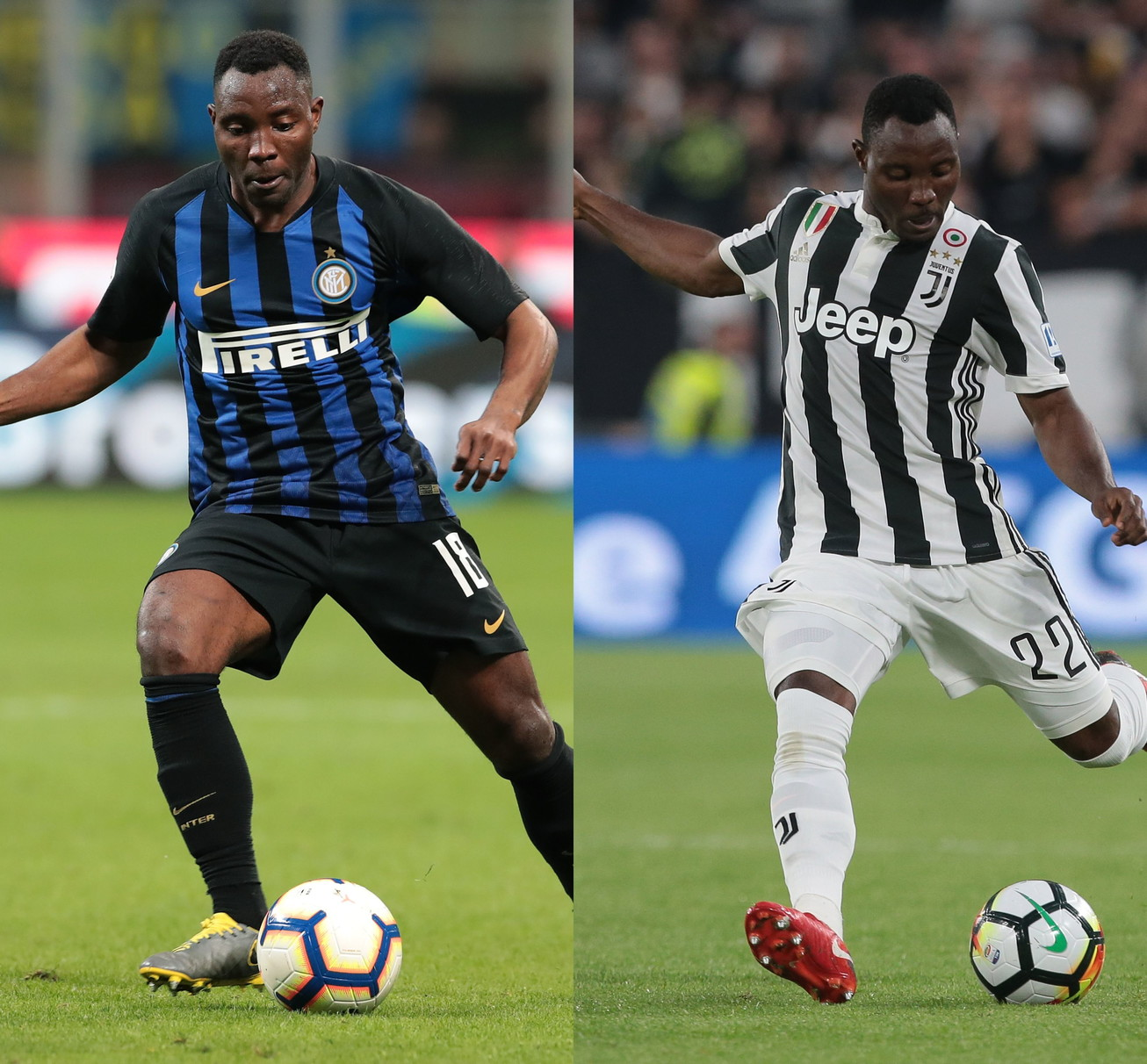 Kwadwo Asamoah: Juve 2012-2018, poi all'Inter