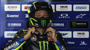 """MotoGP Thailandia, Rossi: """"Dalla terza fila sarà dura..."""""""