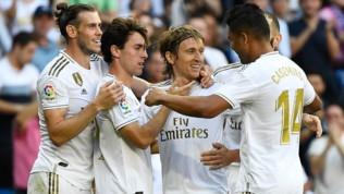 Liga: il Real Madrid consolida la vetta, 4-2 al Granada