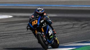 Moto2 Thailandia, Marini torna a esultare