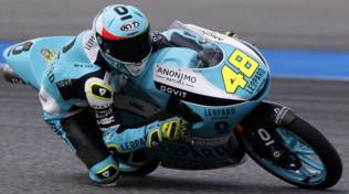 Moto3 Thailandia: Canet va k.o., Dalla Porta intravede il mondiale