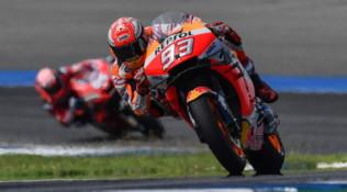 MotoGP Thailandia, Marquez vince ed è campione del mondo per l'ottava volta