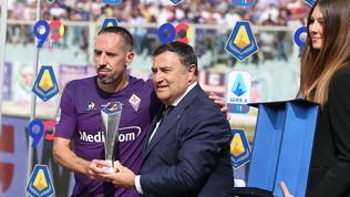 Serie A: Franck Riberypremiato come miglior giocatore di settembre