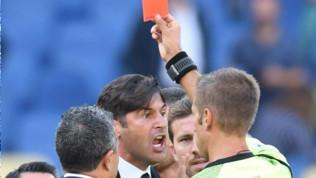Roma-Cagliari, tensione a fine partita: Fonseca espulso
