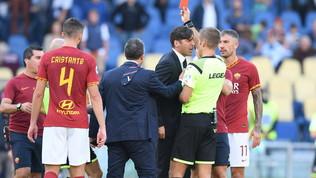 Roma, Fonseca e il suo assistente furiosi con l'arbitro Massa: espulsi