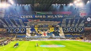 Inter-Juventus, l'atmosfera a San Siro