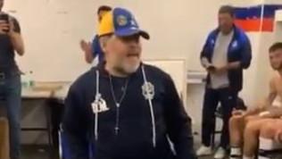 Gimnasia: Maradona, ballo scatenato dopo la prima vittoria