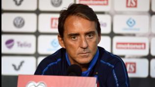 """Italia, Mancini: """"Il gruppo per l'Europeo è praticamente fatto. Balotelli? Vedremo più avanti"""""""