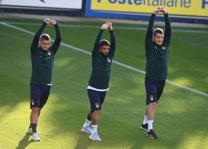 Primo allenamento della Nazionale questo pomeriggio a Coverciano in vista del doppio impegno contro Grecia (sabato 12 ottobre a Roma) e Liechtenstein ...