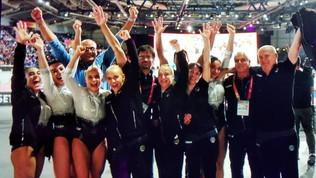 Mondiali di ginnastica artistica, storico bronzo dell'Italia