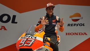 """MotoGP, Marquez: """"Battere Agostini? Impossibile. Anzi, quasi"""""""