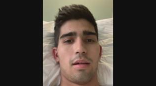 """F2, Correa su Instagram: """"Grato di essere vivo"""""""