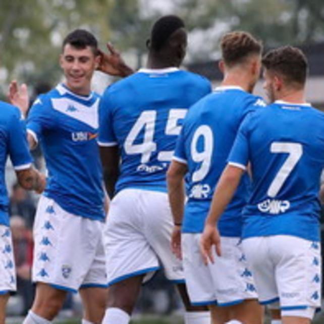 Brescia, Balo scatenato in amichevole: 3 gol in 25 minuti