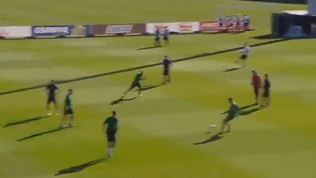 Juve, il gol di Higuain a San Siro provato in allenamento